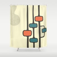 Observe - 1 Shower Curtain
