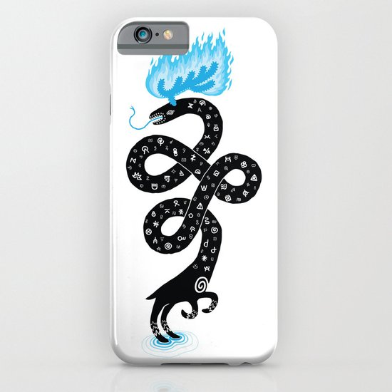 The Puzzling Beast iPhone & iPod Case
