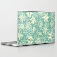 Snowflakes #1 Laptop & iPad Skin
