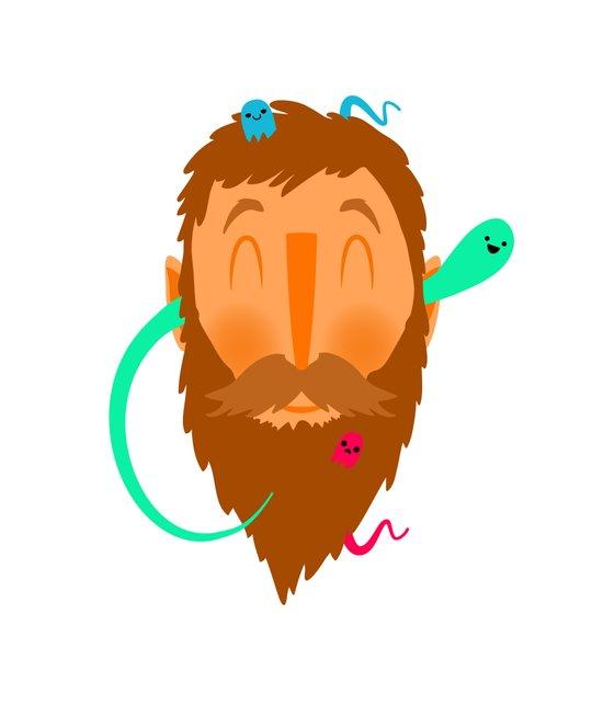 Ghost Beard Canvas Print