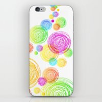 Circle Tower iPhone & iPod Skin