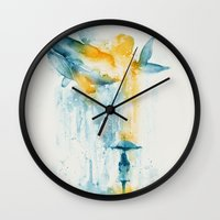 A Majestic Midsummer Rain Wall Clock