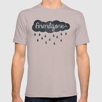 Friendzone Mens Fitted Tee Cinder SMALL