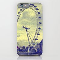 iPhone & iPod Case featuring The London Eye by Jason Michael