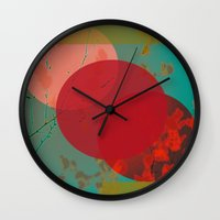 You Can't Fit a Square Peg in a Round Hole Wall Clock