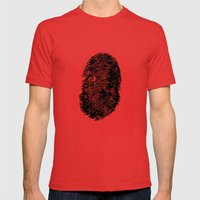 Identity Mens Fitted Tee Red SMALL