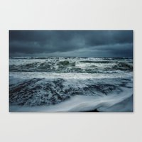 Soaked Canvas Print