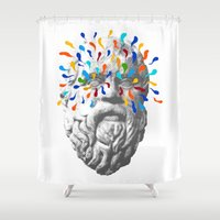 Imagination Running Wild Shower Curtain