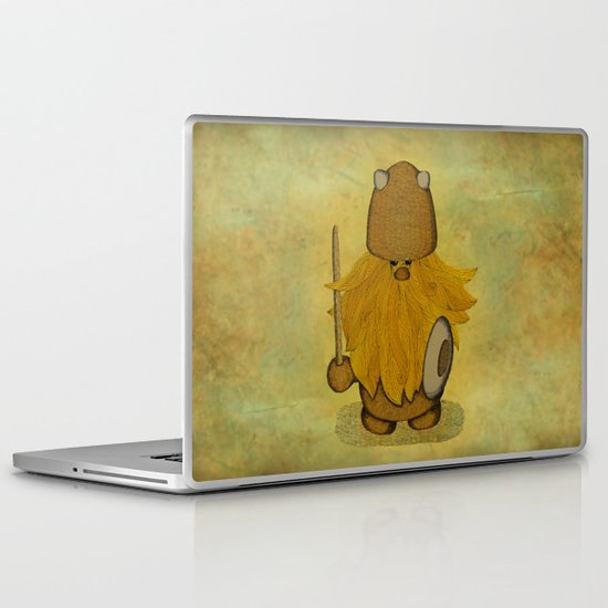 Hirsute Viking Homunculus Laptop & iPad Skin