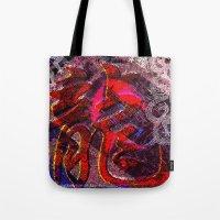 Neon Encyclopedia Tote Bag