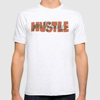 Hustle & Prolificacy Mens Fitted Tee Ash Grey SMALL