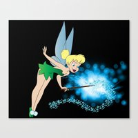 Classic Tinkerbell Canvas Print