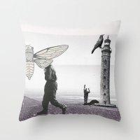 Le phare Throw Pillow