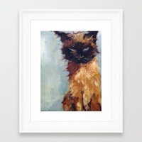 The Wicked One Framed Art Print