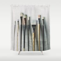 Ready For Action Shower Curtain