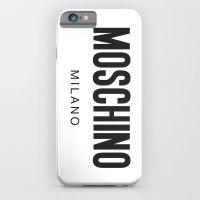 Moschino Milano iPhone 6 Slim Case