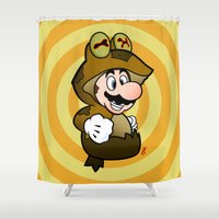 All Glory To The Mario B… Shower Curtain