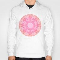 Abstract Pink Mandala Hoody