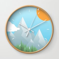 Eat the World Wall Clock