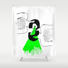 I know who you are Shower Curtain
