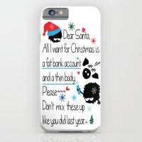 Dear Santa iPhone 6 Slim Case