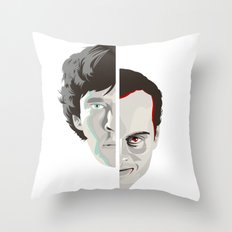 Old Fashioned Villain Throw Pillow