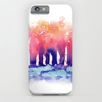 iPhone & iPod Case featuring Abstract Forest by Tiffany Willis
