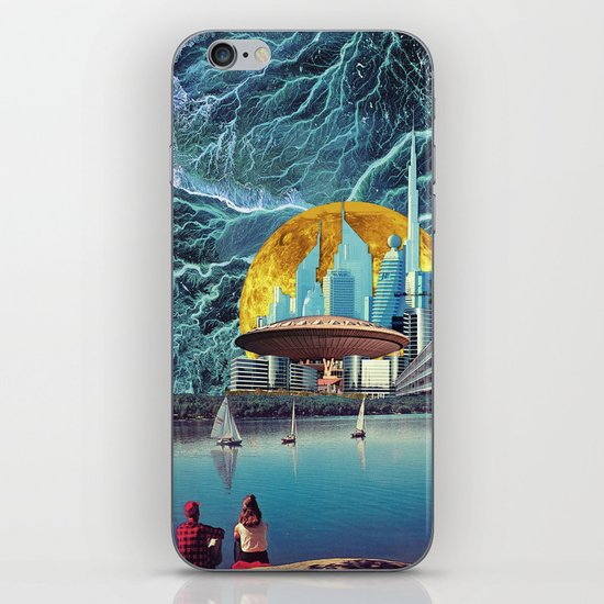 Electrical Storm on Epsilon Eridani-b iPhone & iPod Skin