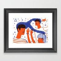 Intertwined 1 Framed Art Print