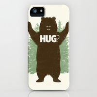 iPhone 5s & iPhone 5 Cases featuring Bear Hug? by Fanboy30