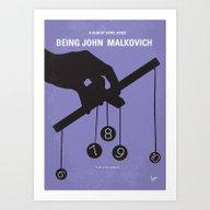 No009 My Being John Malk… Art Print