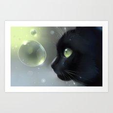 worlds within Art Print