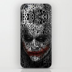 Halloween Psycopath Clown Typograph apple iPhone 4 4s 5 5s 5c, ipod, ipad, pillow case and tshirt iPhone & iPod Skin