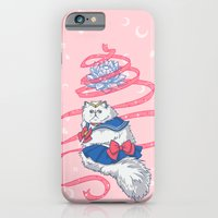 Sailor Kitties Pink Pattern iPhone 6 Slim Case