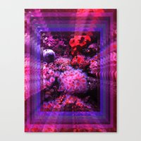 8Ft under the sea Canvas Print