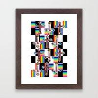 Jesus is The New Pattern Framed Art Print