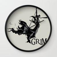 GRIM Wall Clock