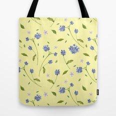 Botanical Print (Hound's Tongue)  Tote Bag