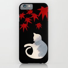 Japanese Cats Series - Red Maple iPhone 6 Slim Case