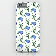 Watercolor hand-drawn flowers pattern  Slim Case iPhone 6s