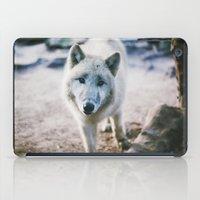 White Wolf iPad Case