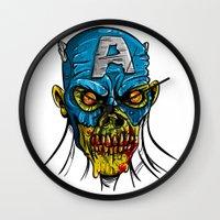 Zombie America Wall Clock
