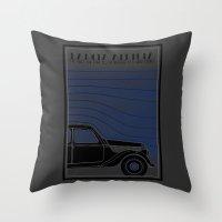 Lancia Aprilia Throw Pillow