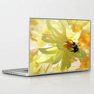 Busy Bumble Bee Laptop & iPad Skin