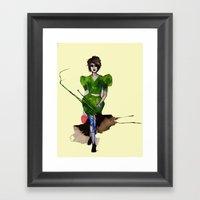 Models Ink 11 Framed Art Print