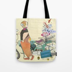 HE SELLS BEAUTIFUL FISHES Tote Bag