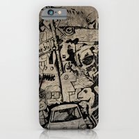 Berlin Street Art concrete iPhone 6 Slim Case