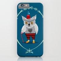 Olaf The Old Grey Owl iPhone 6 Slim Case