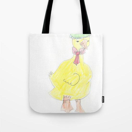 Childhood Drawings (Duck) Tote Bag