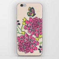Budding Love iPhone & iPod Skin